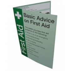 First Aid Guidance Leaflet (00181A)