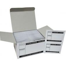 Pk 100 Saline Wipes (00125H)