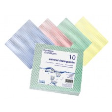 Optima Multi Purpose Cloths Pk 10