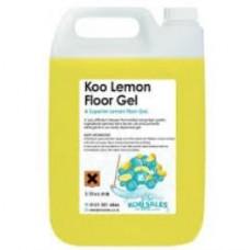 Lemon Gel Floor Cleaner 5 Litres