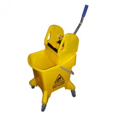 25 Litre Mopping Bucket with Gear Press Wringer