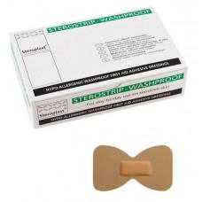 Pk 100 Fingertip Sterostrip Hypoallergenic Waterproof Plasters (00023)