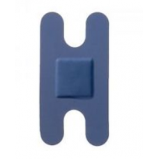 Pk100 Knuckle Sterochef Blue Detectable Plasters