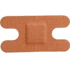 Pk100 Anchor Knuckle Steroflex Fabric Plasters