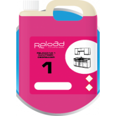 Reload No 1 Sanitiser/Degreaser 4 x 2Ltr