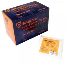 Pk 100 Advacare Low Adherent Dressings (All sizes)