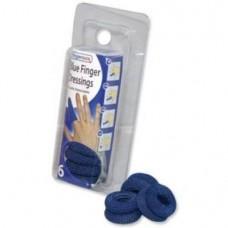 Pk 6 Finger Bobs White or Blue