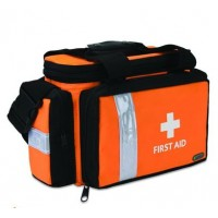 Sports Bag Deluxe Orange & Black (00017J)